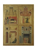 Scenes of Life of Saint Cecilia Prints