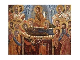 Dormition of the Virgin with Apostles Prints by Onufri Qiprioti