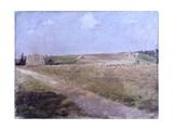 Landscape (Narrow Road Through Fields) Affiches par Giuseppe De Nittis