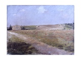 Landscape (Narrow Road Through Fields) Posters by Giuseppe De Nittis