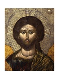 Christ Pantocrator, 16th C. Detail Prints by Onufri Qiprioti