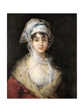Actress Antonia De Zarate Prints by Francisco de Goya
