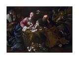 Nativity Giclee Print by Bartolomeo Guidobono (Prete Savonese)