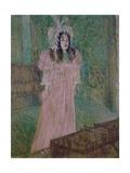 May Belfort (Irish Singer in Paris) Print by Henri de Toulouse-Lautrec