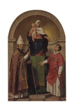 Madonna of the Health, with Sts. Lawrence of Villanova and Lawrence Prints by Tommaso da Rin