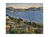 L'Estaque, View of the Bay of Marseille, 1878-1879 Prints by Paul Cézanne