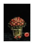 Bunch of Roses Art par Henri Rousseau