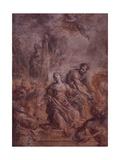 Martyrdom of a Female Saint Prints by Giovanni Antonio Burrini