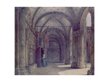Woman in the Atrium of Sant 'Ambrose Giclee Print by Luigi Bisi