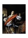 Trumpet Player Posters by Willem Van Mieris