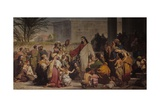 Christ Among the Children Poster por Tommaso da Rin