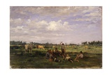 Pasture, (Herders with their Cows) Prints by Demetrio Cosola