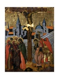 Crucifixion Print by Kostantin Shpataraku