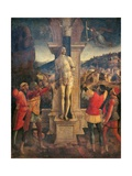 Martyrdom of Saint Sebastian Giclee Print by Vincenzo Foppa