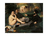 Luncheon on the Grass Art by Édouard Manet