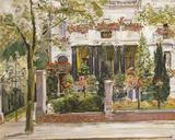 Steinbartschen Villa, Berlin Giclée-Druck von Max Slevogt