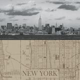 NYC Map II Giclee Print