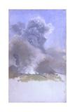 Eruption of Vesuvius (Volcano Erupting) Affiches par Giuseppe De Nittis