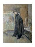 Henri Nocq (Belgian Artist in Lautrec's Studio) Pósters por Henri de Toulouse-Lautrec
