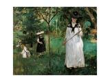 Chasing Butterflies Giclee Print by Berthe Morisot