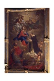 Madonna of the Rosary and Saints Prints by Bortolo Litterini