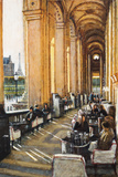 Conversations, Cafe Marley, Paris Giclee Print by Clive McCartney