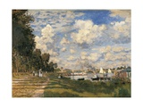The Basin at Argenteuil Print by Claude Monet