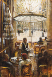 Inside and Outside, Palais Royal Giclee Print by Clive McCartney
