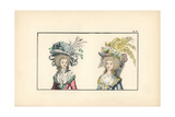Prominent Citizen - Bonnets Giclee Print