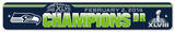 Super Bowl XLVIII Champion Seattle Seahawks Plastic Street Sign Wall Sign