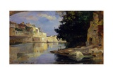 Tiber in Rome Prints by Demetrio Cosola