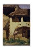 Casa de campo Póster por Demetrio Cosola