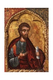 Apostle from Church of Saint Mary Vllaherna Prints by Nicholas (Nikolla) Onufri