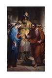 Marriage of the Virgin (Mary and Joseph before the Priest) Prints by Pietro Pietro Gagliardi