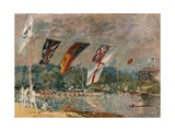 Regatta at Molesey Art by Alfred Sisley