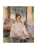 Countess Adele De Toulouse-Lautrec at Breakfast Posters by Henri de Toulouse-Lautrec