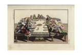 The Last Supper with Jesus Christ and His Apostles Giclee Print