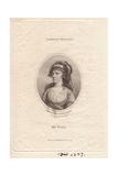Miss Elizabeth Pope (1740-1797) Giclee Print