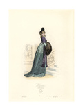 Fashionable Parisian Woman of the Directory Era, 1798 Giclee Print