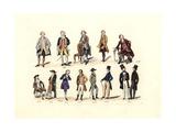 Men's Fashion Giclee Print by Charles Martin