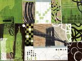 Urban Abstract Giclée-Druck von Philip Brown