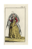 Noblewoman of Venice, 1581 Giclee Print