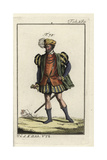 Nobleman of Rome of the Middle Ages Giclee Print