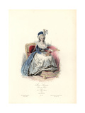 Marie Antoinette, Queen to Louis XVI, 1788 Giclee Print