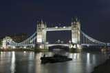 Tower Bridge at Night Giclee Print by Martin Smith