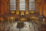Grand Central Station Giclee Print by Clive McCartney