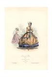 Parisian Ladies, Empire Era, 1864 Giclee Print