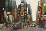 Times Square, New York Giclee Print by Clive McCartney