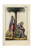 A Jewish Woman and Captured Hebrew Giclee Print