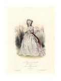 Maria Luisa of Savoy, Princess of Lamballe, Reign of Louis XVI, 1788 Giclee Print